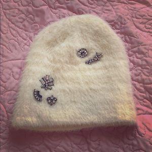 Fuzzy adorable NWOT winter hat